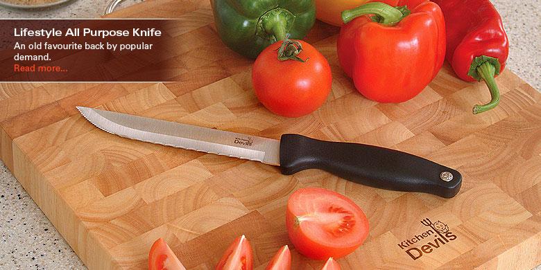 Kitchen Knives By Devils