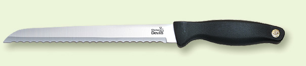 Kitchen Devils bread knife