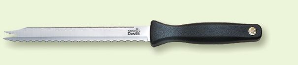 kitchen devils roast meat & bread knife