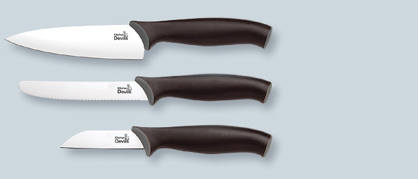 A Multi Purpose Collection Of Handy Knives Featuring Paring Knife And Small Cooks